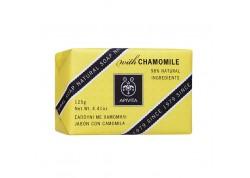APIVITA Natural Soap με χαμομήλι 125 gr