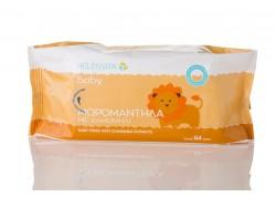 Helenvita Baby Μωρομάντηλα με Χαμομήλι 64 τεμάχια