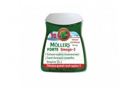 Moller's Μουρουνέλαιο Forte Omega-3 60 caps