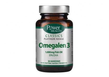 Power Health Platinum Omegalen 3 30 κάψουλες