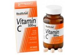 HealthAid Vitamin C 500 mg Chewable Orange Flavour 100 tabs
