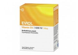 EVIOL Vitamin D3 2200IU (55μg) 60caps