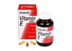 HealthAid Vitamin E 600 iu 60 caps