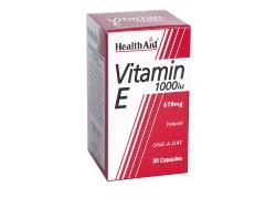 HealthAid Vitamin E 1000 iu 30 caps