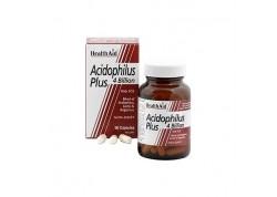 HealthAid Acidophilus Plus 4 Billion 60 caps