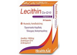 HealthAid Lecithin 1000 mg & Co-Q-10 & Vitamin E 30 caps