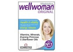 VITABIOTICS Wellwoman Original 30 caps