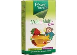 Power Health Multi+Multi Kids 30 κάψουλες