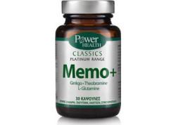 Power Health Platinum Memo+ 30 caps