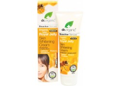 dr.organic Skin Whitenning Cream με βασιλικό πολτό 125 ml