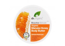 dr.organic Body Butter με μέλι μανούκα 200 ml