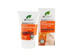 dr.organic Foot & Heel Cream με μέλι μανούκα 125 ml