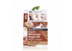 dr.organic Night Cream με βιολογικό έλαιο αργκάν 50 ml