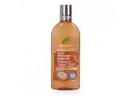 dr.organic Shampoo με βιολογικό έλαιο αργκάν 265 ml