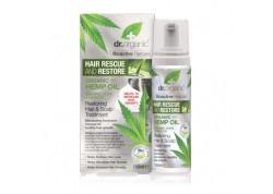 Dr.Organic Restoring Hair & Scalp Treatment με βιολογικό κανναβέ