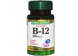 NATURE'S BOUNTY Βιταμίνη B-12 500 mcg 100 tabs