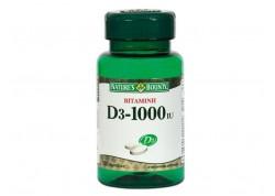 NATURE'S BOUNTY Βιταμίνη D3 1000 IU 100 tabs