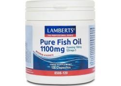 Lamberts Pure Fish Oil 1100 mg (epa) 120 caps