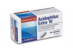 Lamberts Acidophilus Extra 10 (Milk Free) 60 caps