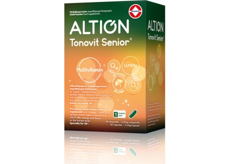 ALTION Tonovit Senior Multivitamin 40 κάψουλες