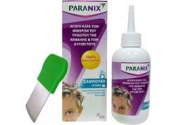 Paranix Shampoo κατά των φθειρών του τριχωτού της κεφαλής & των αυγών τους 200 ml + κτένα