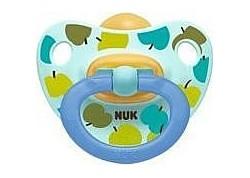 NUK Πιπίλα Φυσ. Ελαστικό Happy Kids 18-36 m