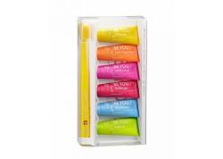 CURAPROX Be You Six Taste Pack 6 mini οδοντόκρεμες 10ml + CURAPROX Οδοντόβουρτσα Ultra Soft CS 5460