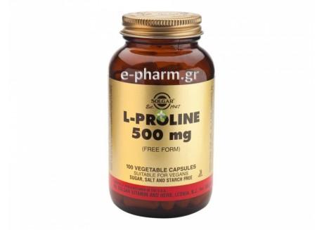 Solgar L-Proline 500 mg veg.caps 100s