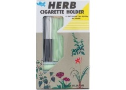 Vican Herb Cigarette Holder 12 ανταλλακτικά φίλτρα με θήκη